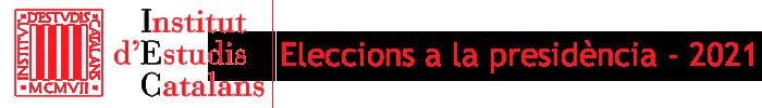 Eleccions a la presidència de l'IEC 2021